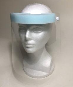 Face Shield with Foam Pad and Elastic Headband
